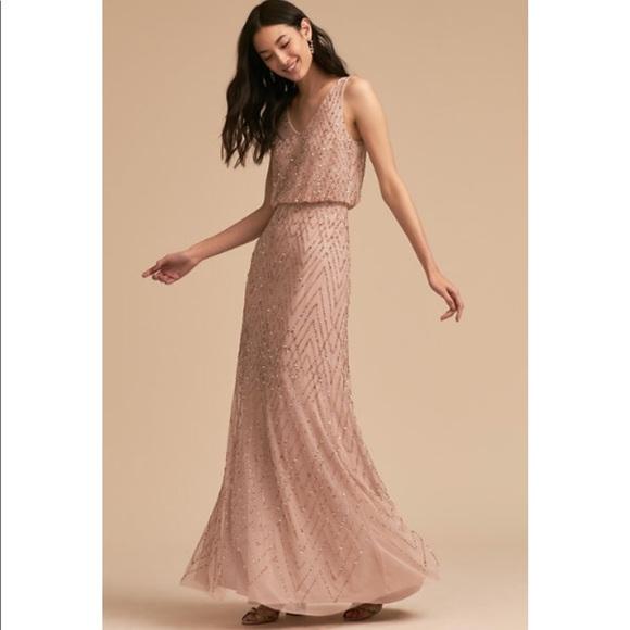 46def55146e1 BHLDN Dresses | Beaded Bridesmaids Dress Sz 16 | Poshmark
